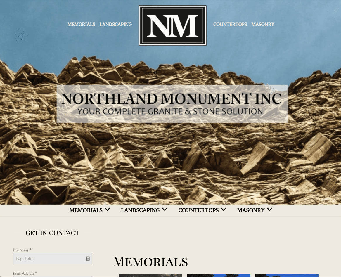 Northland-Frontpage